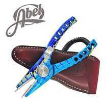 Abel Marlin Model #4 Pliers w/Built-In Bottle Opener & Lanyard (Sheath not included)