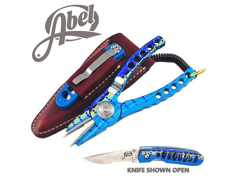 Abel Model #4 Marlin Pliers & Standard Marlin AbelBlade Knife Combo