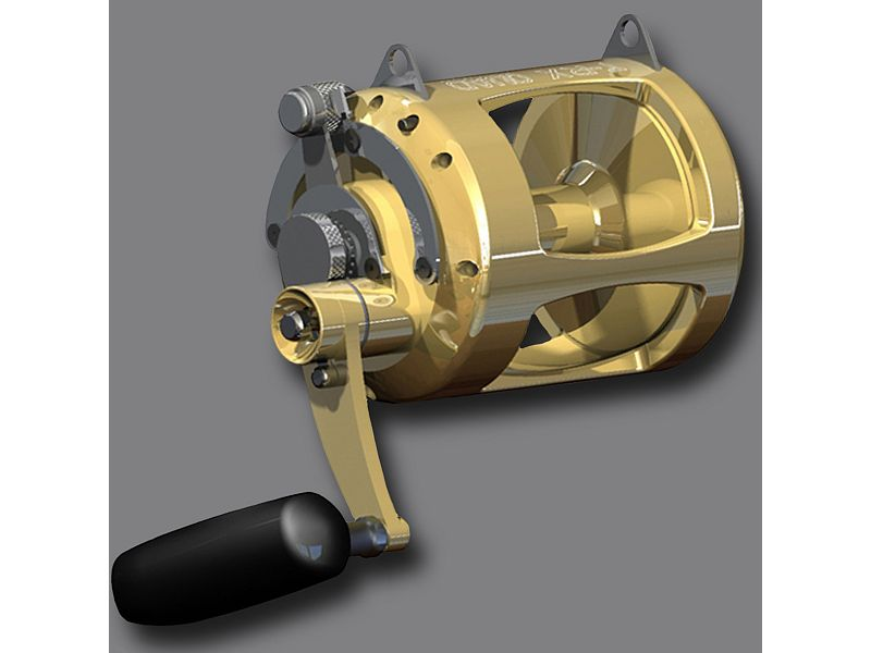 Avet T-RX 30W Quad Reel - Gold - Right-Hand