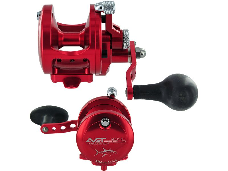 Avet MXJ5.8:1 Single Speed Reel