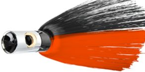 Iland Lures Mistress - Black/Electric Red