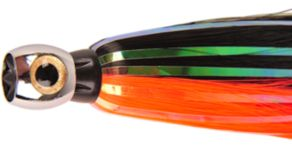Iland Sea Star Flasher Lures - Black/Electric Red