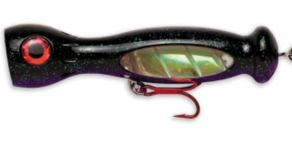 Williamson Jet Poppers - Black/Purple