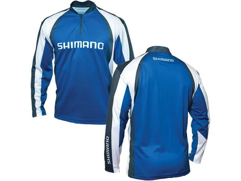 Shimano Technical Sublimated Zipfront Long Sleeve