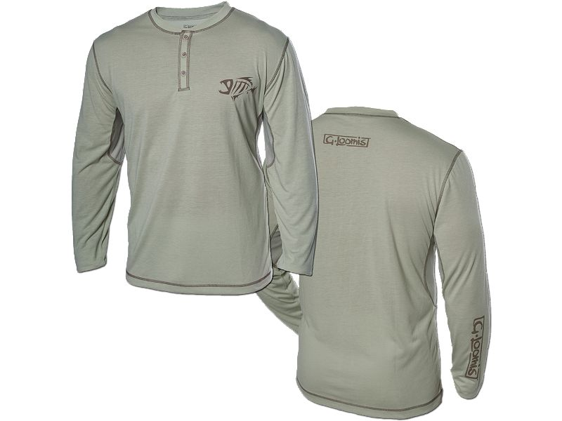 G. Loomis Technical Long Sleeve Henley