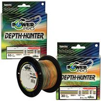 PowerPro Depth Hunter Multi-Colored Braid