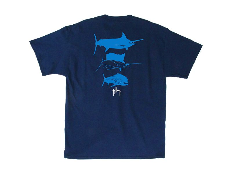 Guy Harvey 3 Predators T-Shirt