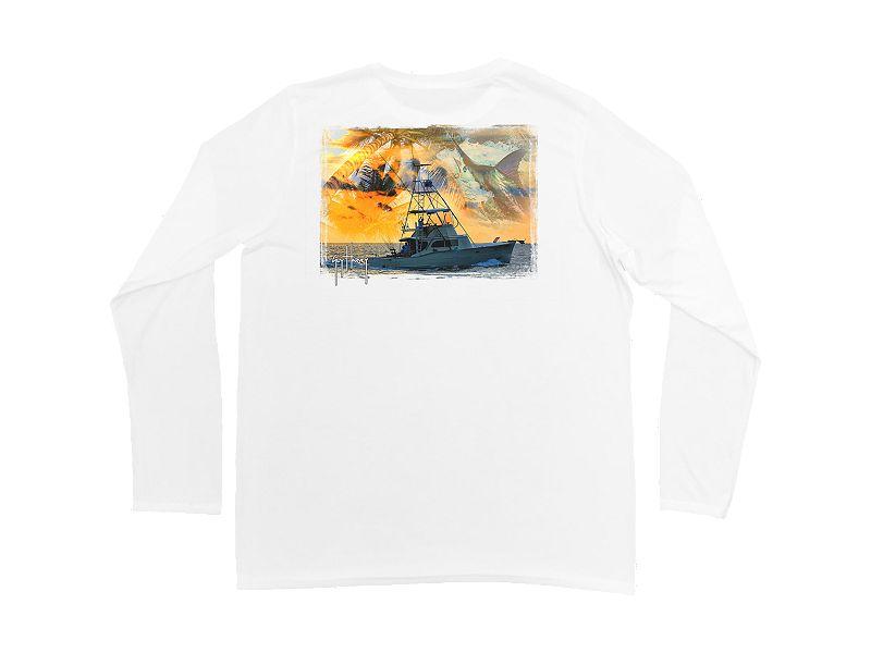 Guy Harvey Cruisin Pro UVX Performance Long Sleeve Shirt