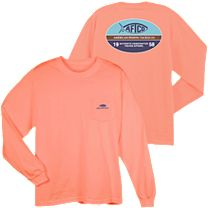 AFTCO Don't Limit Me Pocket Long Sleeve Shirt
