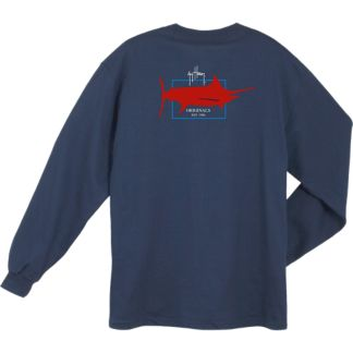 Guy Harvey Logo Long Sleeve Shirt
