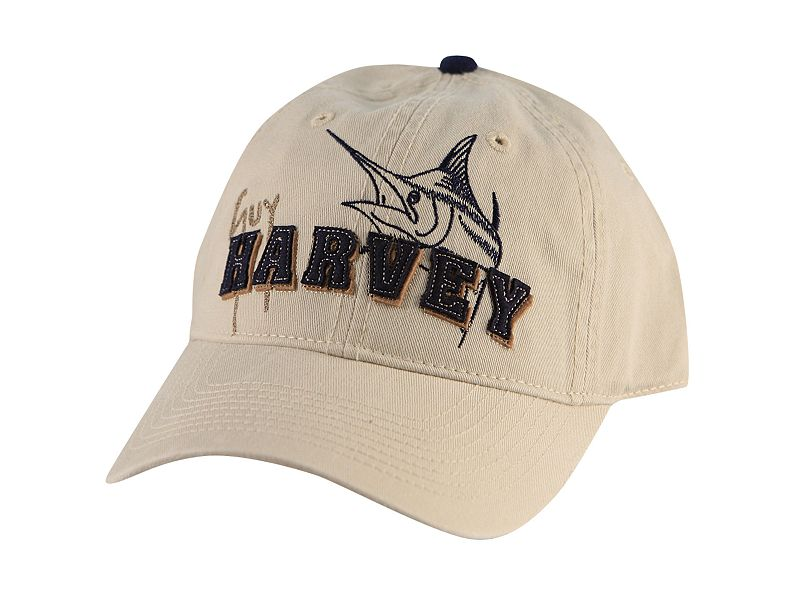 Guy Harvey Marlin Applique Hat