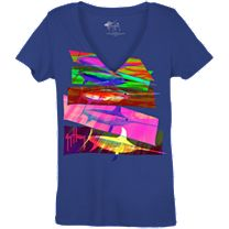 Guy Harvey Swordy Ladies T-Shirt