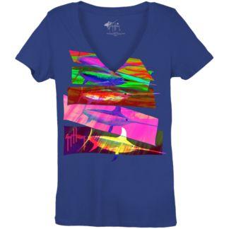 Guy Harvey Swordy Ladies T-Shirt