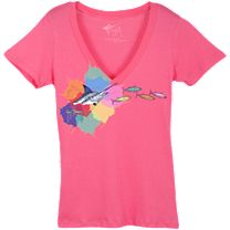Guy Harvey Punk Ladies T-Shirt