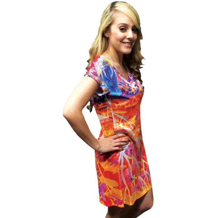 Guy Harvey Perfect Spot Scoop Neck Dress