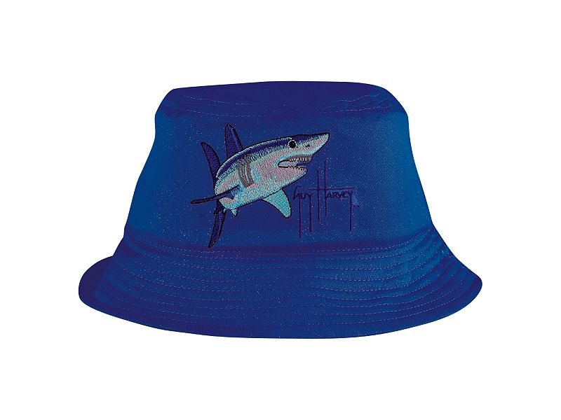 Guy Harvey Mako Shark Youth Bucket Hat