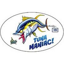 AFTCO Tuna Maniac! Sticker
