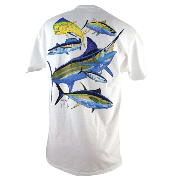Guy Harvey Atlantic Big Game T-Shirt