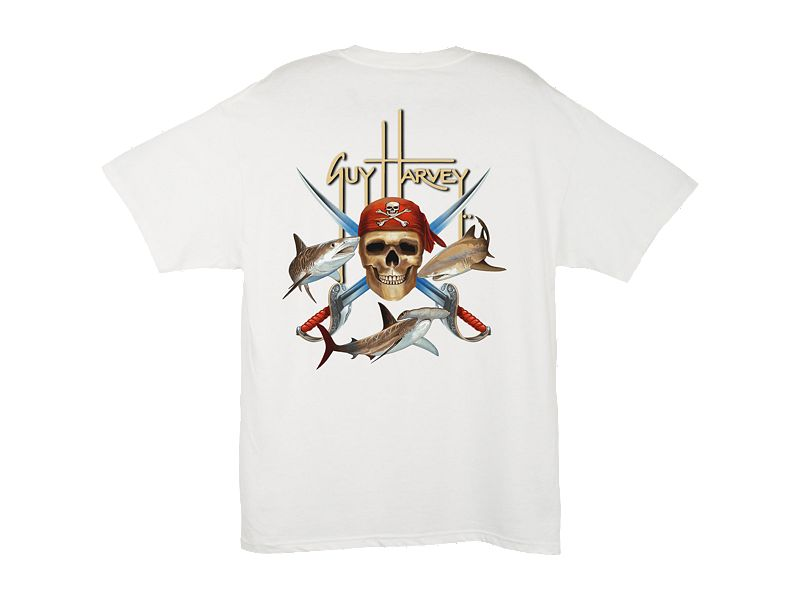 Guy Harvey Pirate Shark T-Shirt