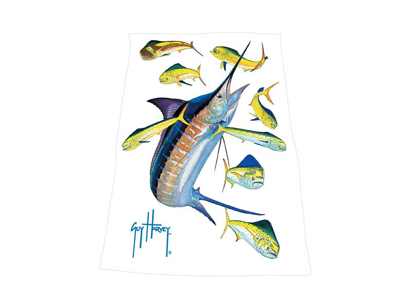 Guy Harvey Marlin Dorado Towel