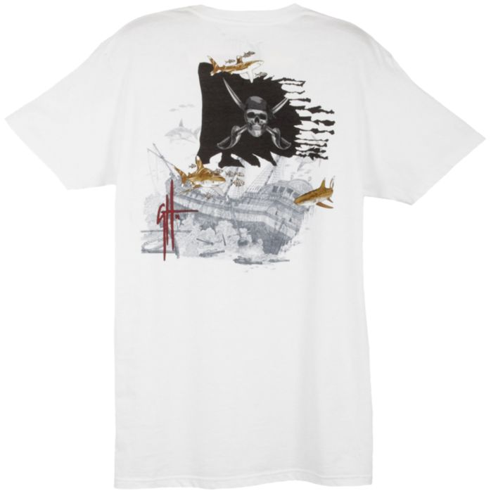 Guy Harvey Pirate Shark 4 Slimfit T-Shirt