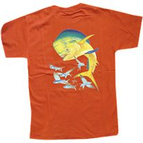 Guy Harvey Bull Dolphin Youth T-Shirt