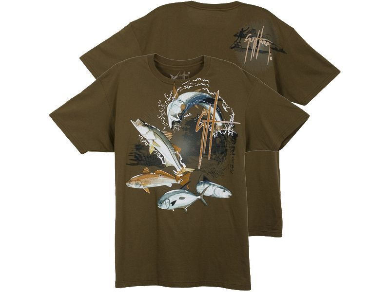 Guy Harvey Inshore Jackpot T-Shirt