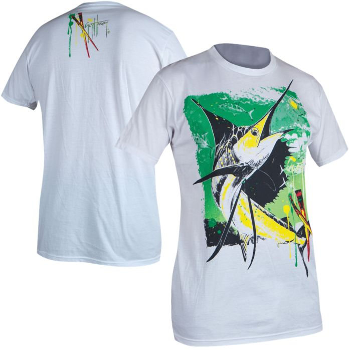 Guy Harvey Paint By Color Slimfit T-Shirt
