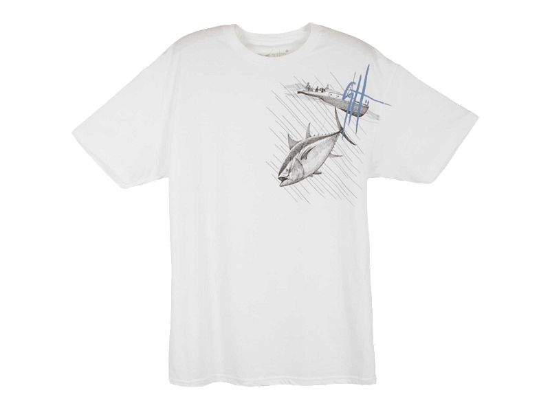 Guy Harvey Tuna Run Slimfit T-Shirt