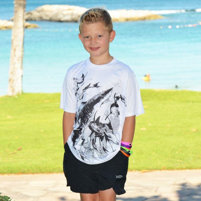 Guy Harvey Chasing Youth T-Shirt