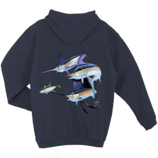Guy Harvey Trouble Slip-Over Hoody