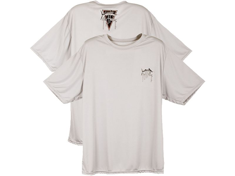 Guy Harvey Logo Dart Performance T-Shirt