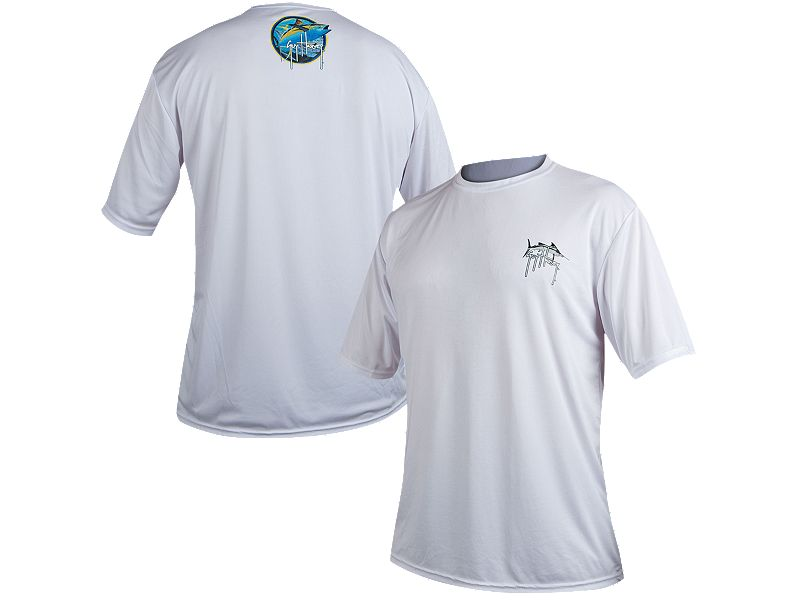 Guy Harvey Logo Flash Performance T-Shirt