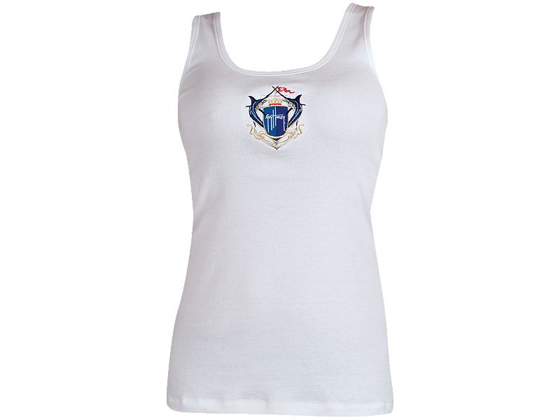 Guy Harvey Crest Knit Ladies Tank Top