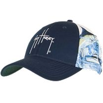 Guy Harvey Marlin Boat Sport Mesh Hat