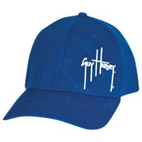 Guy Harvey Diamond Embossed Hat