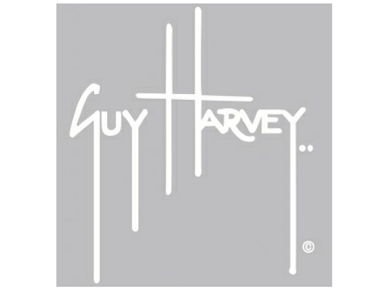 Guy Harvey Signature Sticker