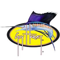 Guy Harvey Sailfish Oval Sticker