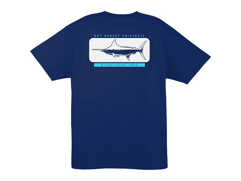 Guy Harvey Woodblock T-Shirt