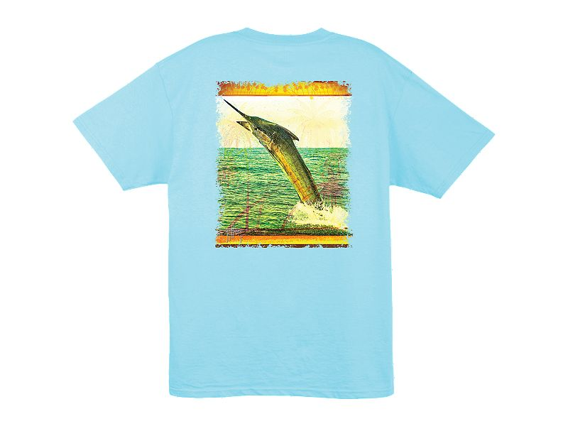 Guy Harvey Hooked T-Shirt