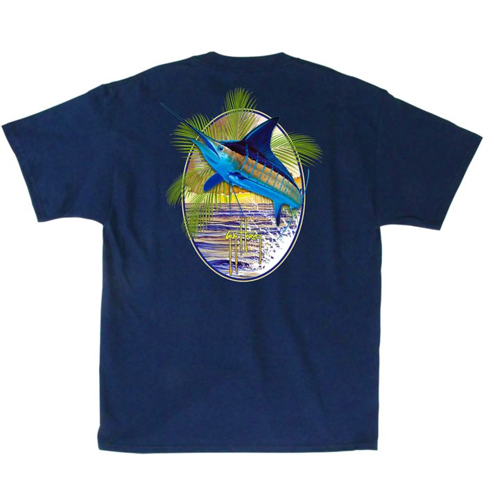 Guy Harvey Sunset Palms T-Shirt