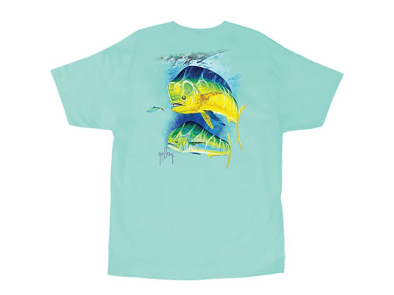 Guy Harvey Two Bulls T-Shirt