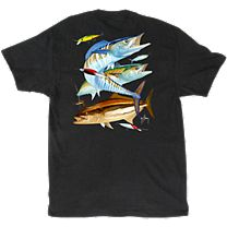 Guy Harvey Gulf Coast Fishing T-Shirt