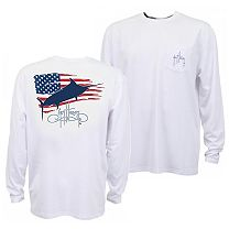 Guy Harvey Patriot Pro UVX Performance Long Sleeve Shirt
