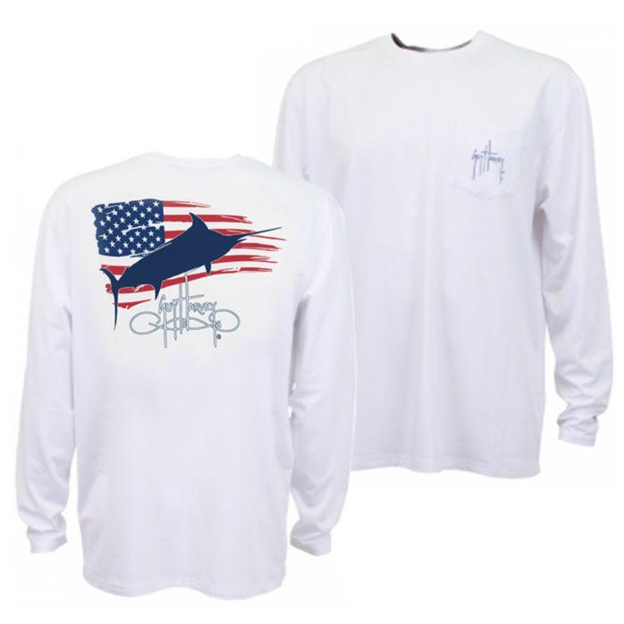 Guy Harvey Patriot Pro UVX Performance Long Sleeve Shirt