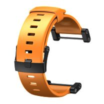 Suunto Core Flat Elastomer Orange Strap