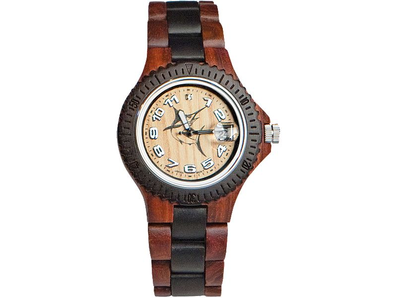 "Tense Custom ""Action Marlin"" Wood Sport Watch"