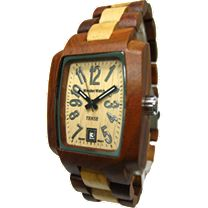 Tense Classic Wood Sport Watch