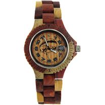 Tense Custom Mahi Wood Sport Watch