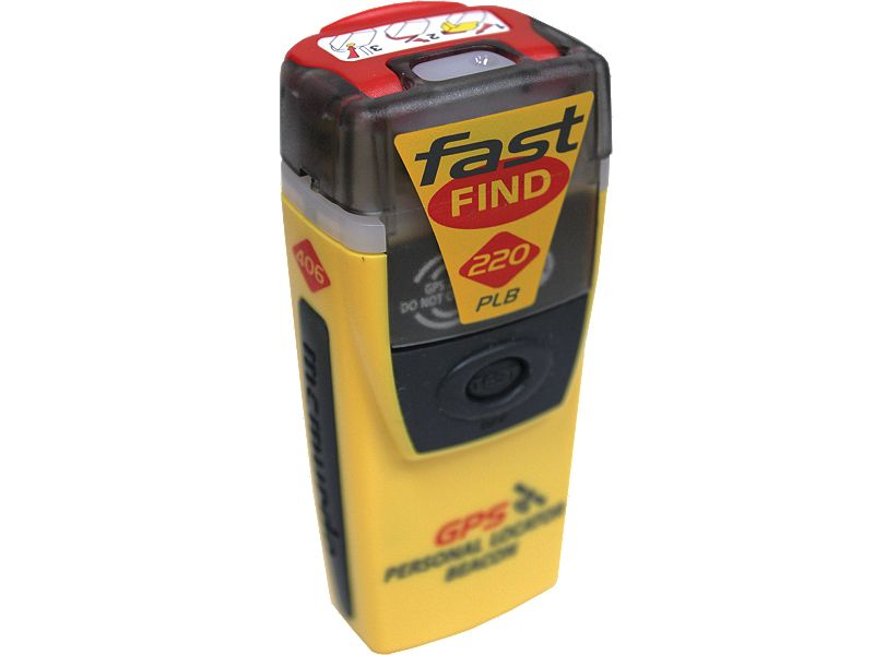 McMurdo Fastfind 220 PLB with GPS